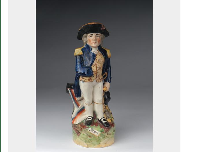 STAFFORDSHIRE FIGURAL TOBY JUG OF 'ADMIRAL