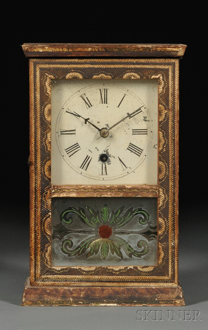 Silas B. Terry Cottage Clock, Terryville,