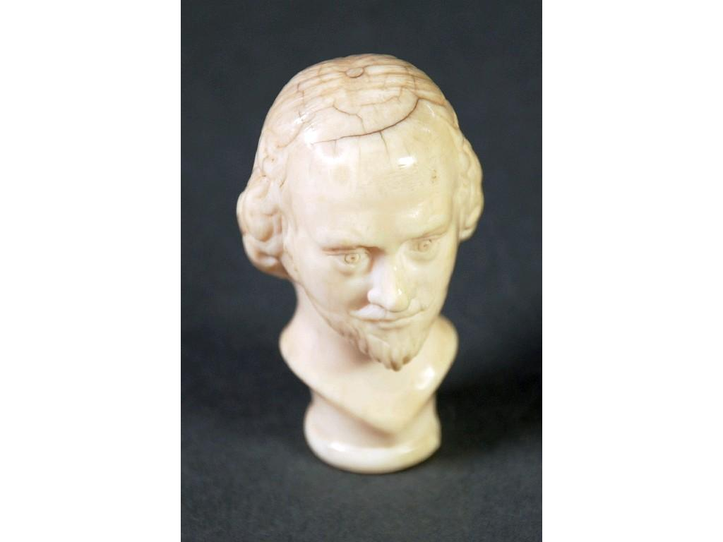 NINETEENTH CENTURY PROBABLY EUROPEAN CARVED