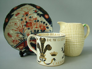 A selection of mixed ceramics to include