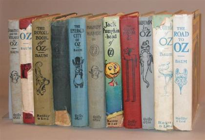 11 vols.  (Oz Books): (Neill, J.R., illustrator.)