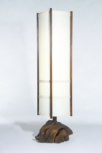 GEORGE NAKASHIMA Kent Hall floor lamp with