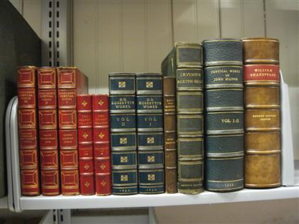 11 vols. Leather Bindings - English & American