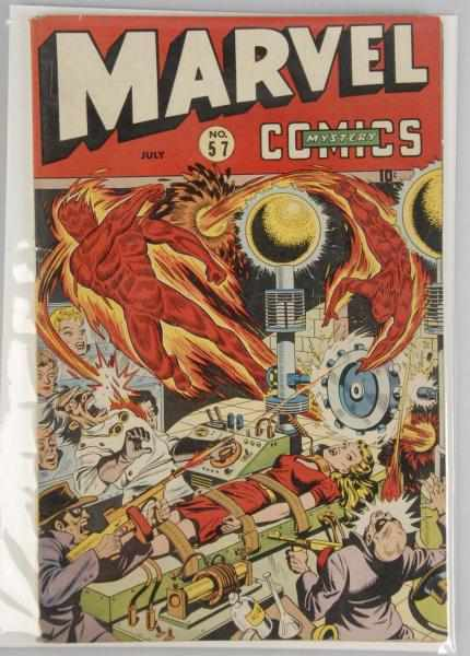 1944 Marvel Mystery Comics No. 57. 