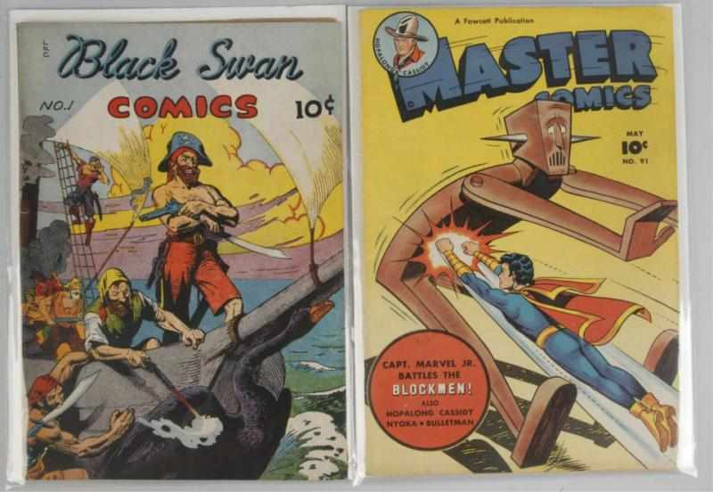Lot of 2: Assorted 1940s Golden Age Comics.