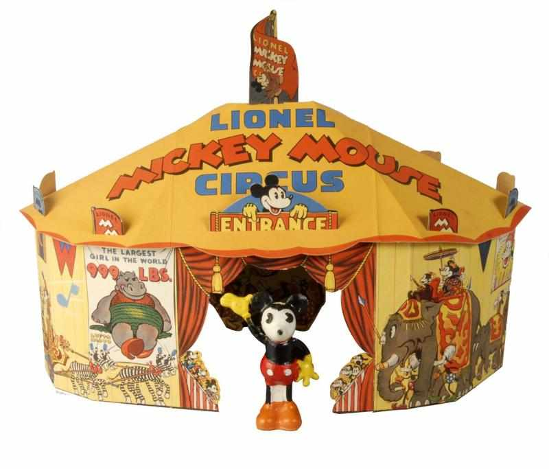 Tin Lionel Disney Mickey Circus Train Wind-Up