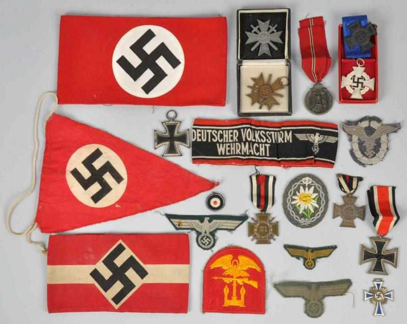 Price guide for German Nazi Military Medals, Badges, & Patches