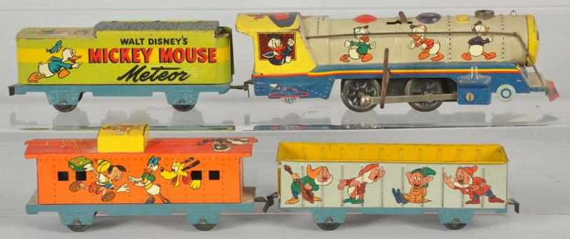 Tin Marx Walt Disney Meteor Wind-Up Train