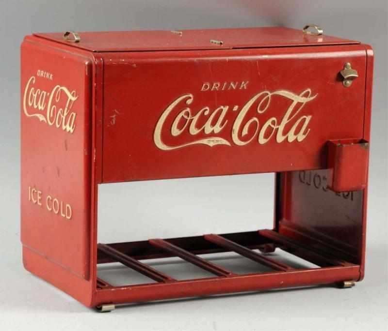 Price guide for 1939 Coca-Cola Salesman's Sample Cooler
