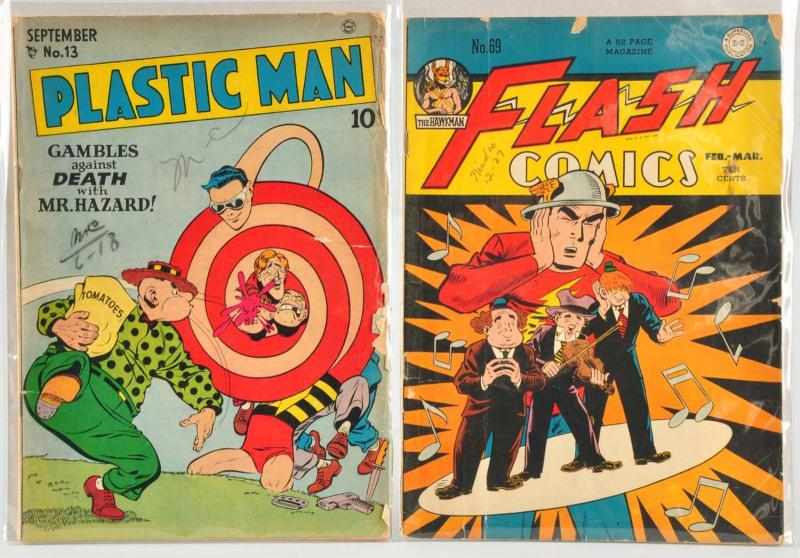 Lot of 2: 1940s Golden Age Comics. 