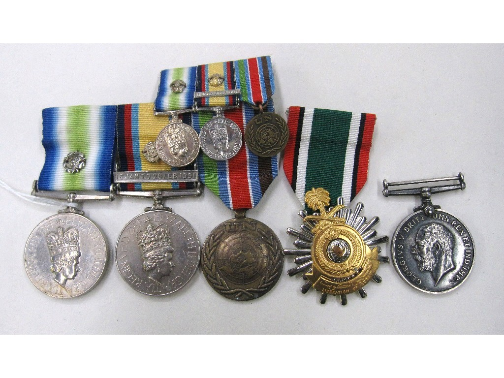 Group of medals - South Atlantic medal with
