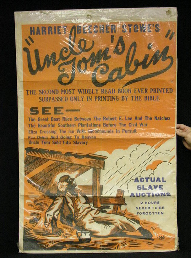 UNCLE TOMS CABIN MOVIE POSTER Original, Circa