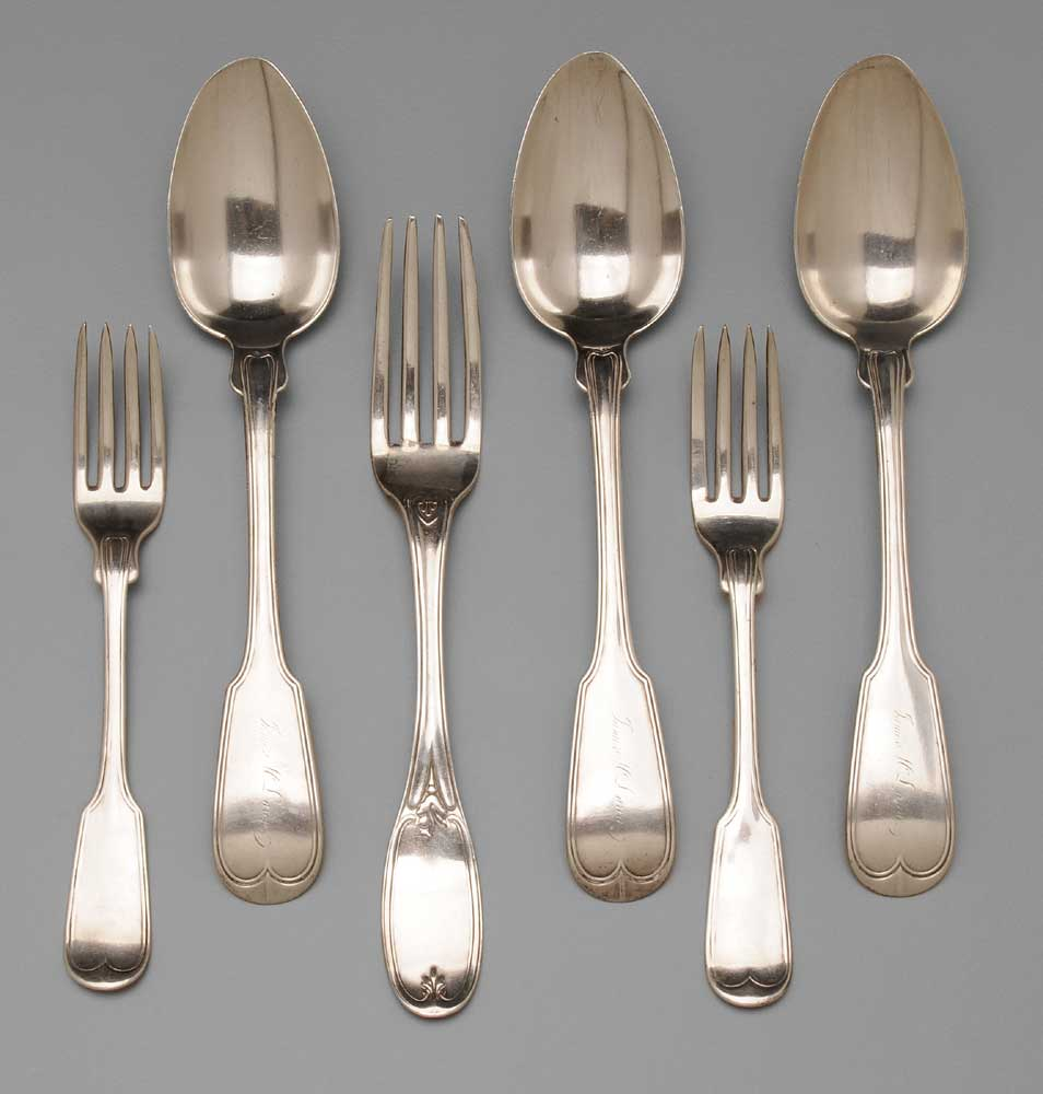 Charleston Coin Silver Flatware Charleston,