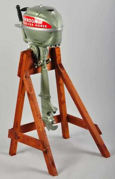Price guide for 1949 Vintage Johnson Outboard Motor on Stand