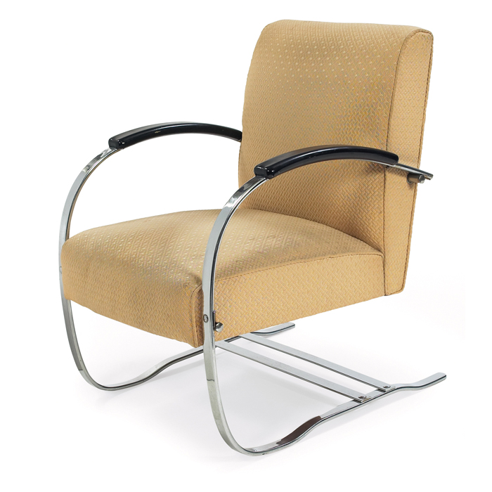 Wolfgang Hoffman lounge chair  by Howell