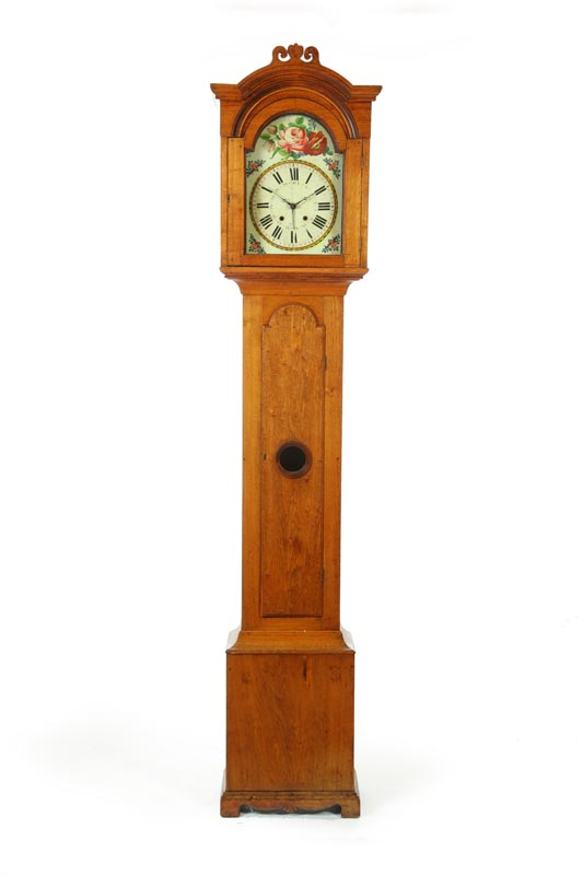 ***TALL CASE CLOCK.  American  early 19th