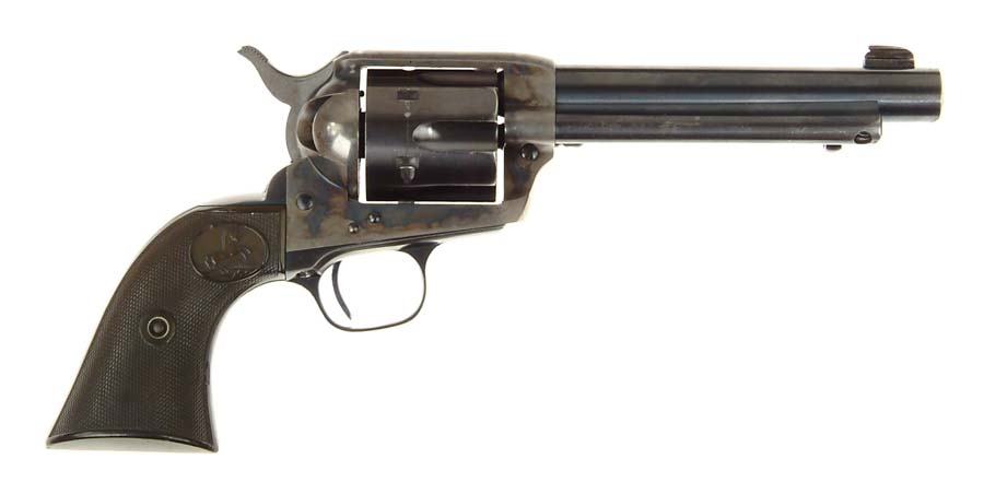 *WYOMING SHERIFF'S SINGLE ACTION ARMY REVOLVER.