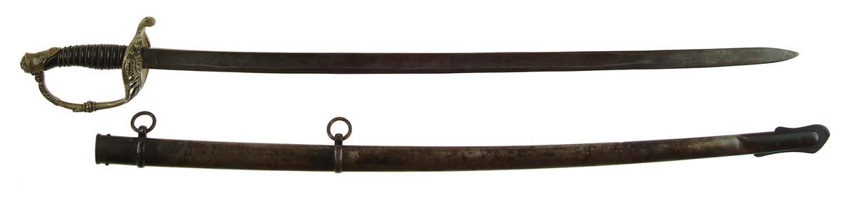 CONFEDERATE STAFF OFFICER'S SWORD MADE