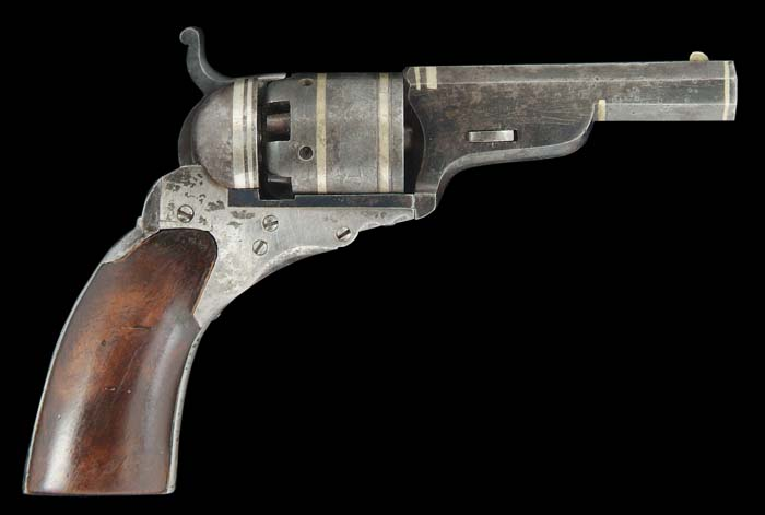 RARE CASED COLT MODEL C POCKET NO. 1 BABY
