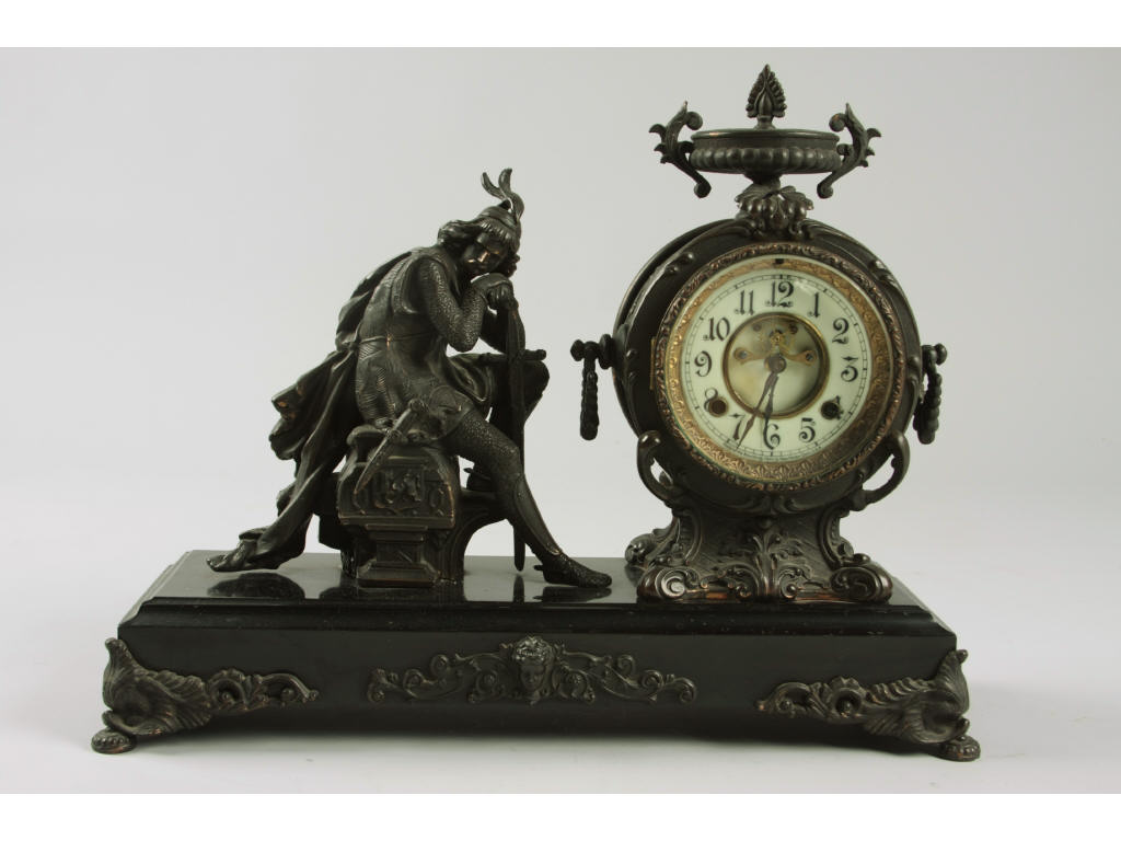 "New Haven Clock Co. ""Ivanhoe"" Mantle Clock,"