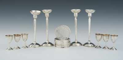 A Lot of Sterling Silver Table Articles Including:
