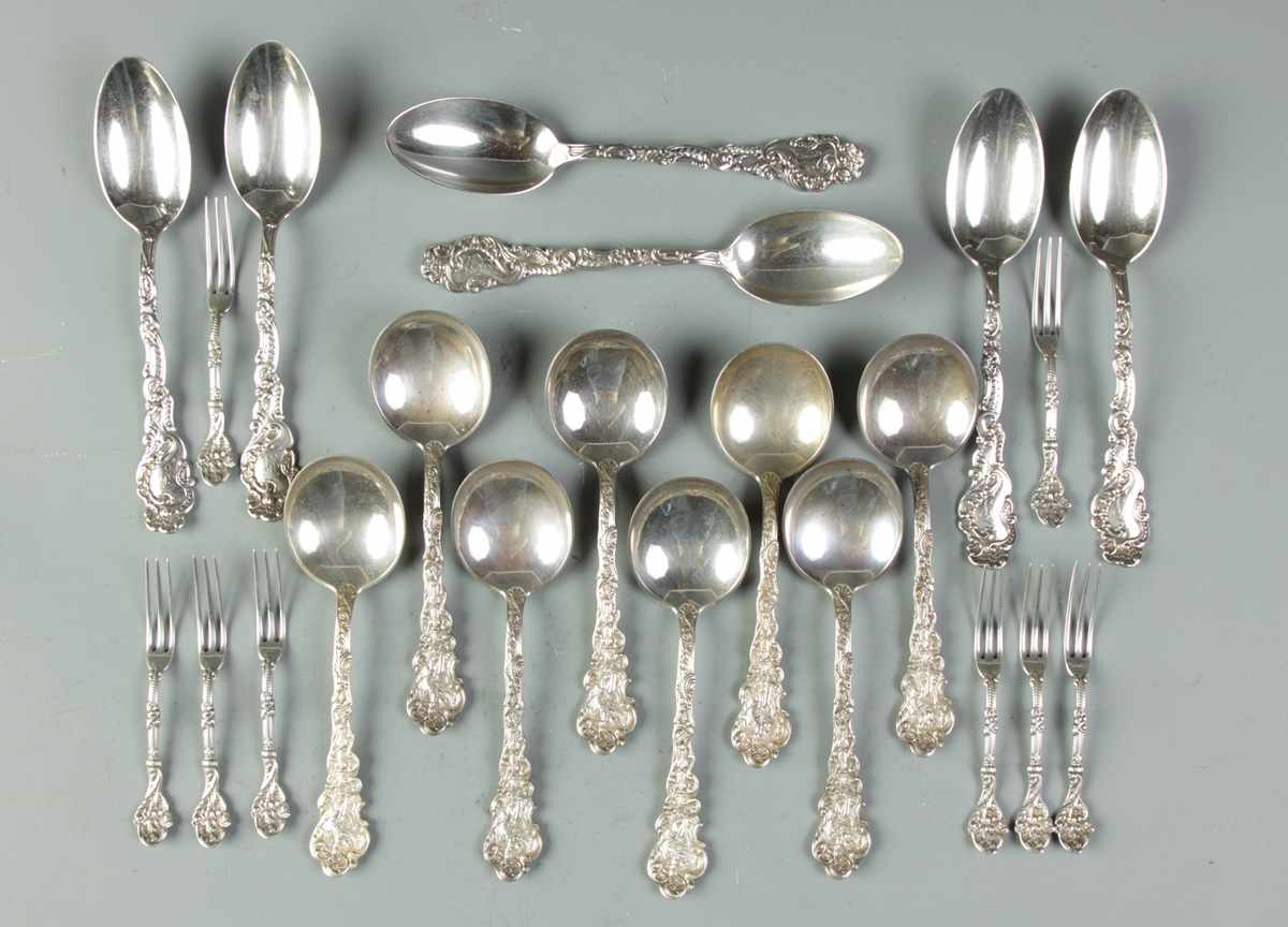 Group of Gorham Sterling Flatware 167. Group