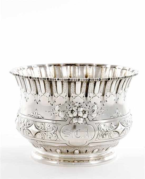 Southern sterling bowl W. G. Whilden & Co