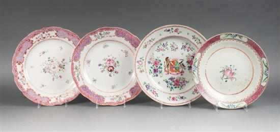 Pair of Chinese Export Famille Rose porcelain