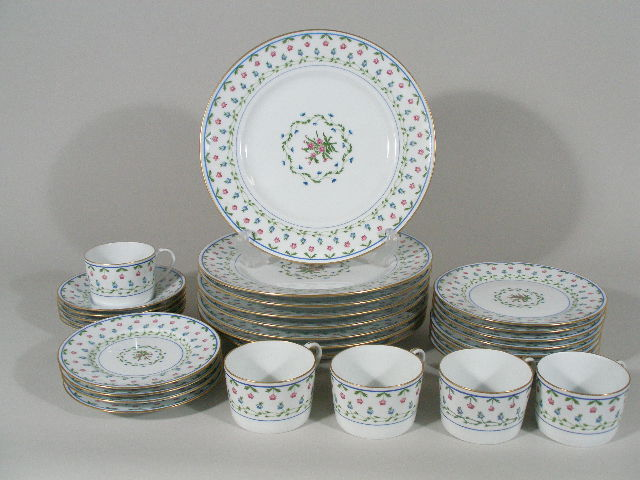 "Raynaud Limoges Porcelain Service, ""Lafayette,"""