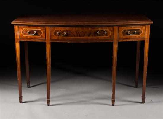 Potthast Brothers Federal style inlaid mahogany