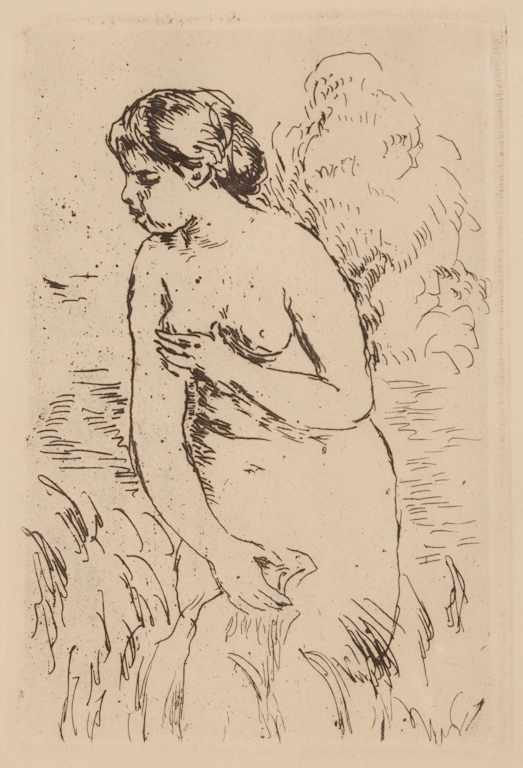 Pierre-August Renoir French 1841-1919 ''Baigneuse