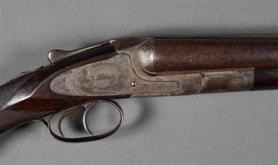 Hunter Arms model L.C. Smith 12 gauge double