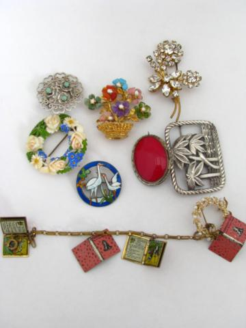 Group of Assorted and Vintage Costume Jewelry