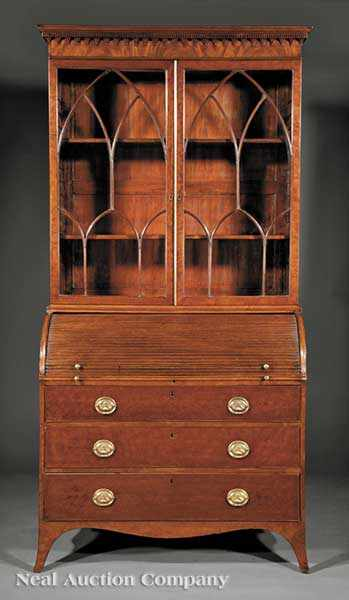 "A Good George III ""Plum Pudding"" Mahogany"