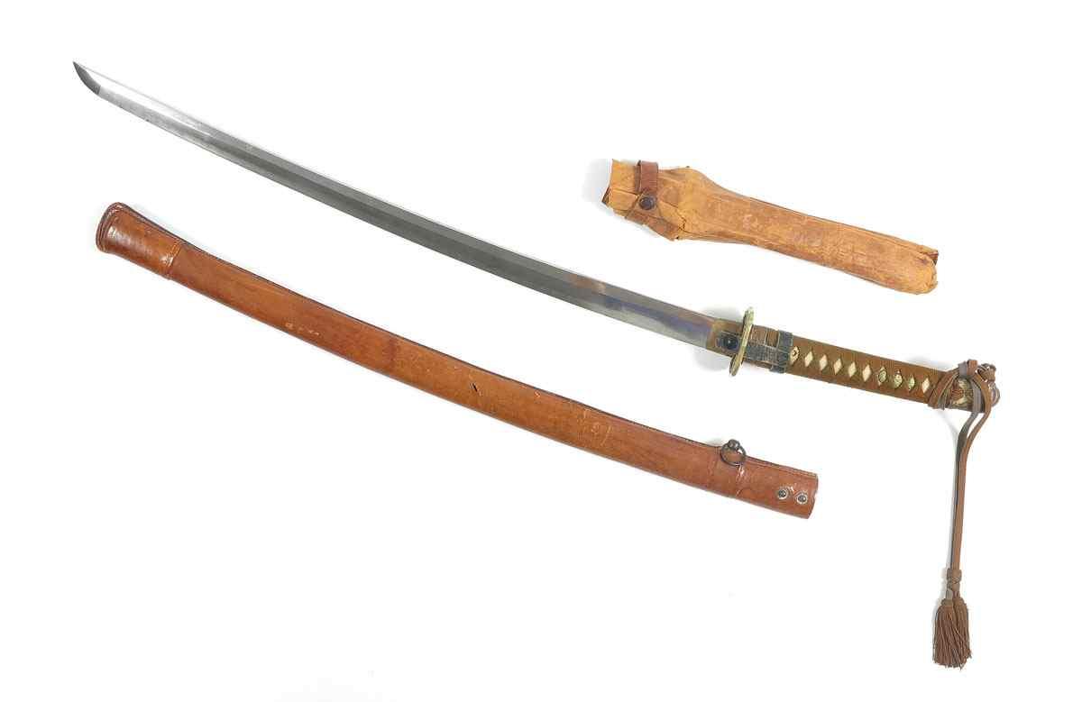 Price guide for WWII JAPANESE SEKI SCHOOL KATANA SWORD: Blade