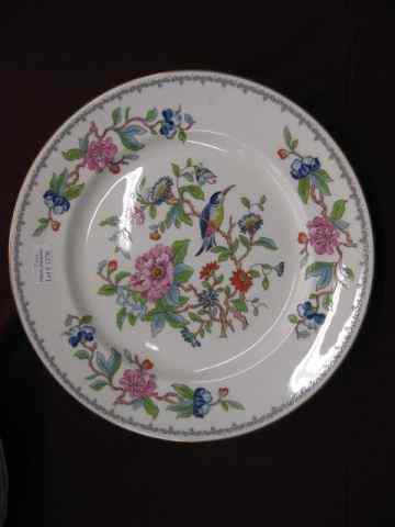 Pair of Aynsley China ''Pembroke''Plates