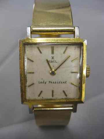 Ebel ''Lady President'' Wristwatch 14k Goldwith