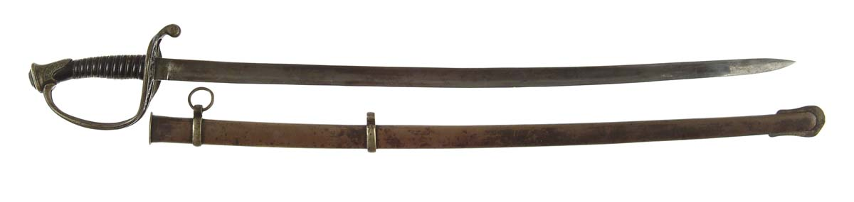THOMAS, GRISWOLD FOOT OFFICERS SWORD IN BRASS
