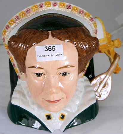 Royal Doulton Large Character Jug Queen Mary
