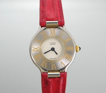 433. A Ladies' Must de Cartier 21 Watch 