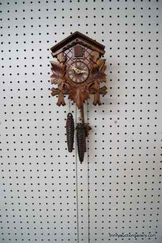 Vintage German Made Cuckoo ClockIs an authentic