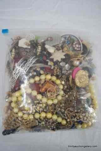 Vintage 1940's-60's Costume Jewelry Bag Lot