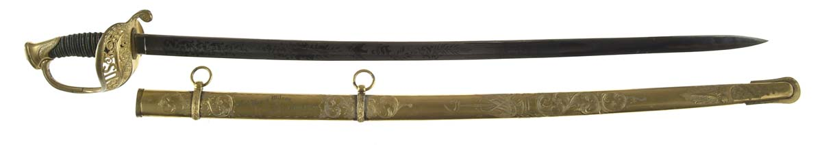 HISTORIC AND IMPORTANT PRESENTATION SWORD