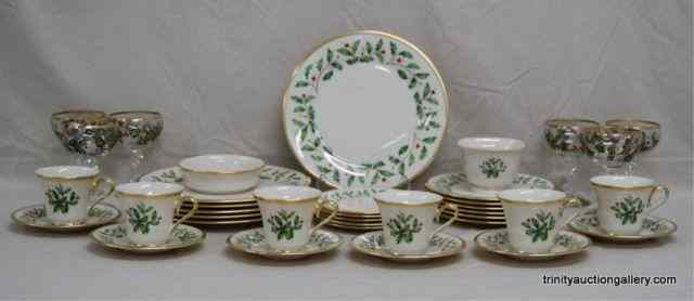 Lenox China Holiday Dimension 37pc. Dinner