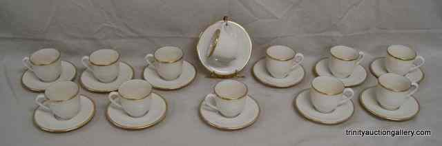 Lenox China Mansfield 12 Demitasse Cup &