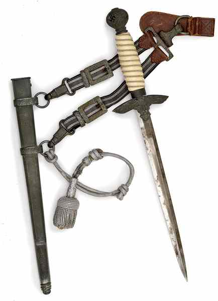 Price guide for German WWII 2nd Model Luftwaffe Dagger with