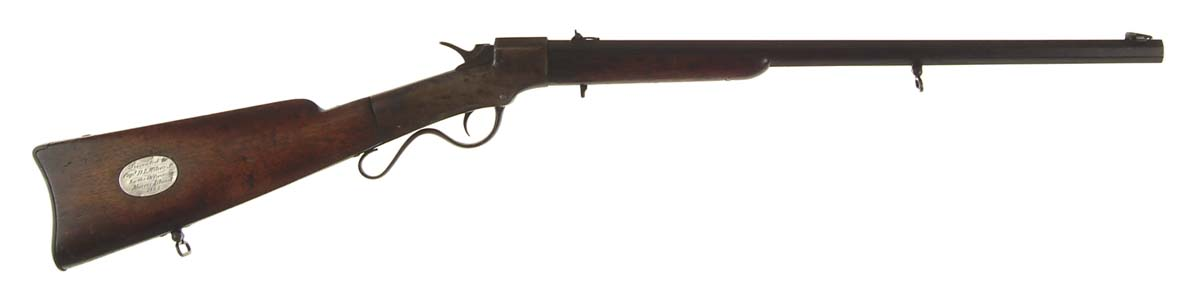 PRESENTATION CIVIL WAR ERA BALLARD RIFLE.