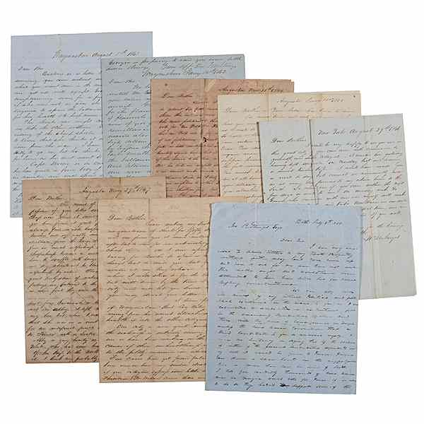 Letters Between the Sturges Brothers Most