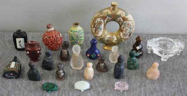 Large Lot of Asian Miniatures.Includes assorted