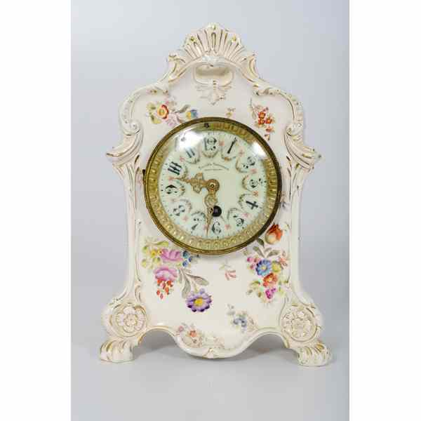 Ansonia-style Mantle Clock American. An